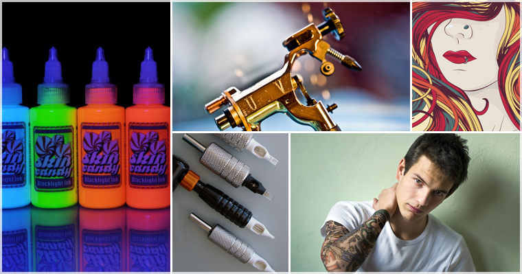 Puff N Stuff Tattoo Supplies Ink Needles Guns Gloves